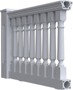 """6-3/4 Inch Balustrade Systems"""