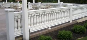 Exterior Porch Balustrade System