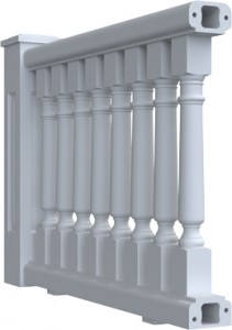 """""""5-3/4 Inch Exterior Balusters"""""""