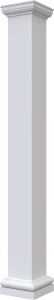 Square Non-Tapered Plain
